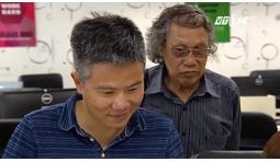VTC14 - Giáo sư Ngô Bảo Châu đến thăm BigSchool