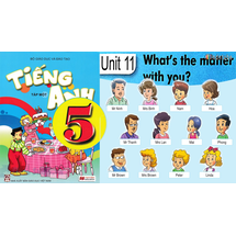 Unit 11: What's the matter with you