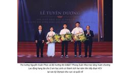 Tuyên dương học sinh xuất sắc Olympic Quốc tế & thi THPT Quốc gia 2016