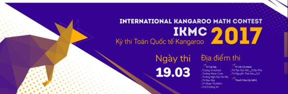 Hơn 10.000 học sinh tiểu học, THCS tranh tài cùng Toán Quốc tế Kangaroo
