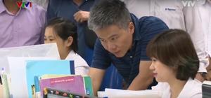 Bản tin VTV1 - GS. Ngô Bảo Châu đến thăm BigSchool
